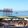2013-09-08 - Pike Place Market with ferry in the background