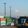 2013-09-11 - Shipping containers and Mt Rainier - Seattle, WA, USA